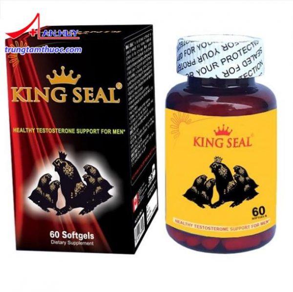 Viên uống Hải cẩu hoàn – King Seal giúp điều hòa nội tiết nam như thế nào?