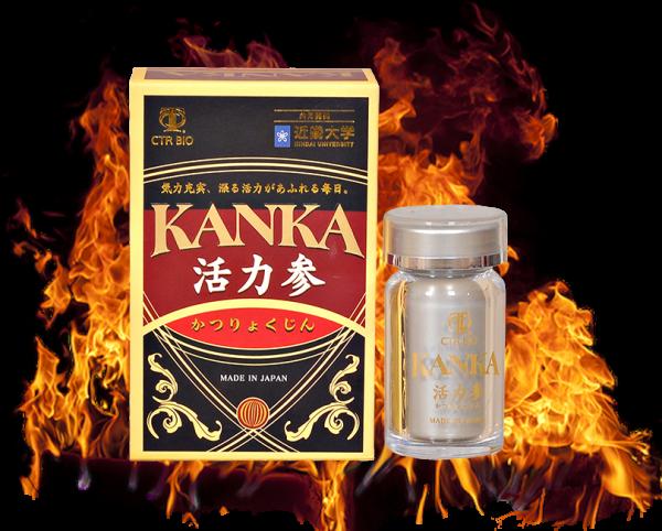 Bổ thận Kanka – Viên uống hỗ trợ phục hồi cho nam giới yếu sinh lý